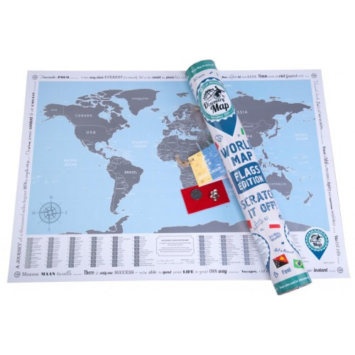 Discovery Map World Flags Edition Mapstore Eu