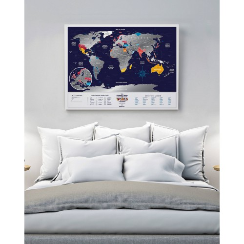 TRAVEL MAP WORLD HOLIDAY